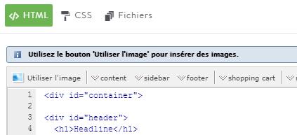 Modifier le code HTML et CSS d'un site avec Jimdo
