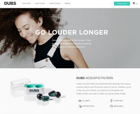 Dubs, conçu avec Shopify