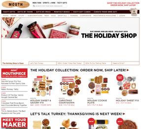 Avis sur le site Mouth, conçu avec Shopify