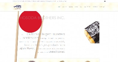 Hosoda Brothers - Exemple de site Weebly