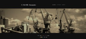 Exemple de site Webnode : site de photographe