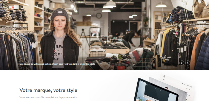 Shopify outil ecommerce