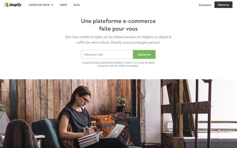 Prix et tarifs Shopify