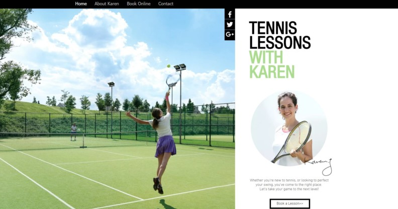 Tennis with Karen
