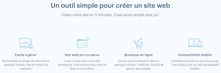 Webnode un outil simple pour créer son site internet